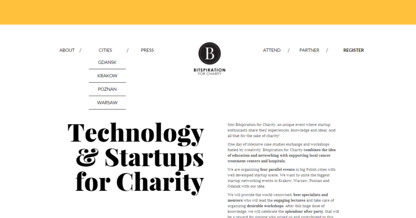 Bitspiration for charity