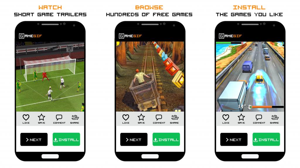 GameGif - Watch Game Trailers Screenshot