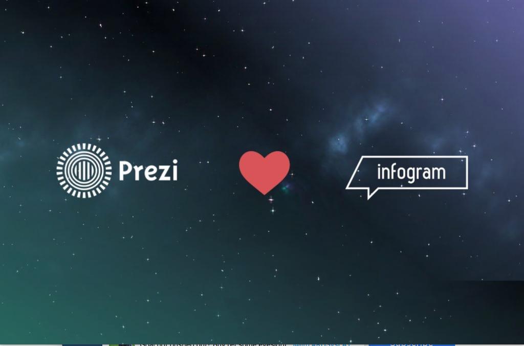 infogram and prezi