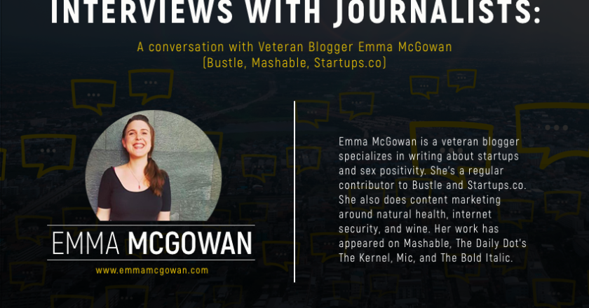 Emma McGowan Webinar, How Startups Can Best Prepare for Interviews with Journalists