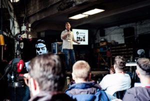 planning international tech startup event