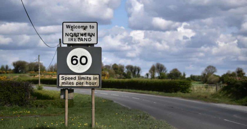 Irish border Brexit blockchain 150sec