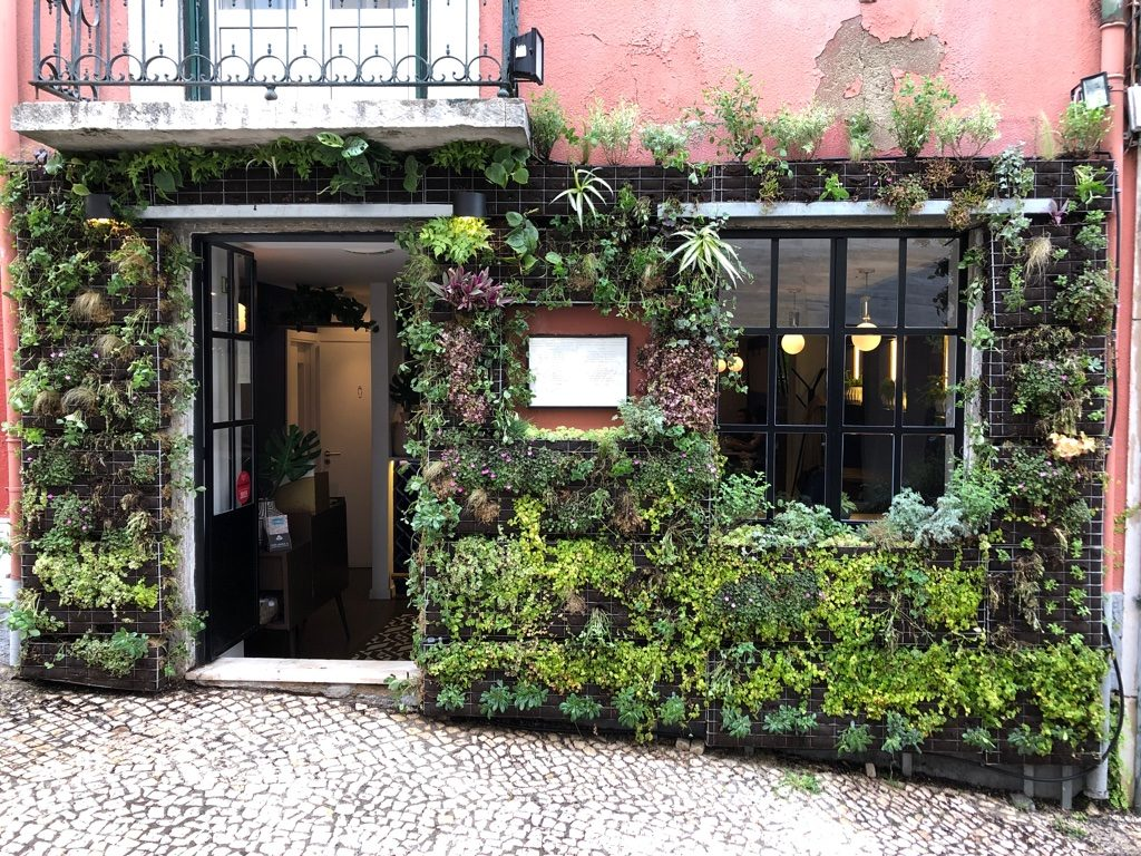 Green walls Lisbon sustainability