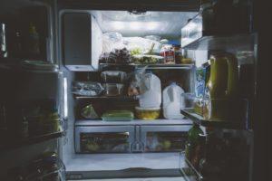 A smart fridge