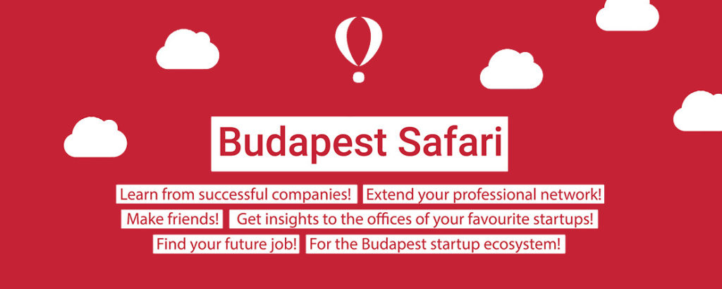 Promotional poster for Budapest Startup Safari
