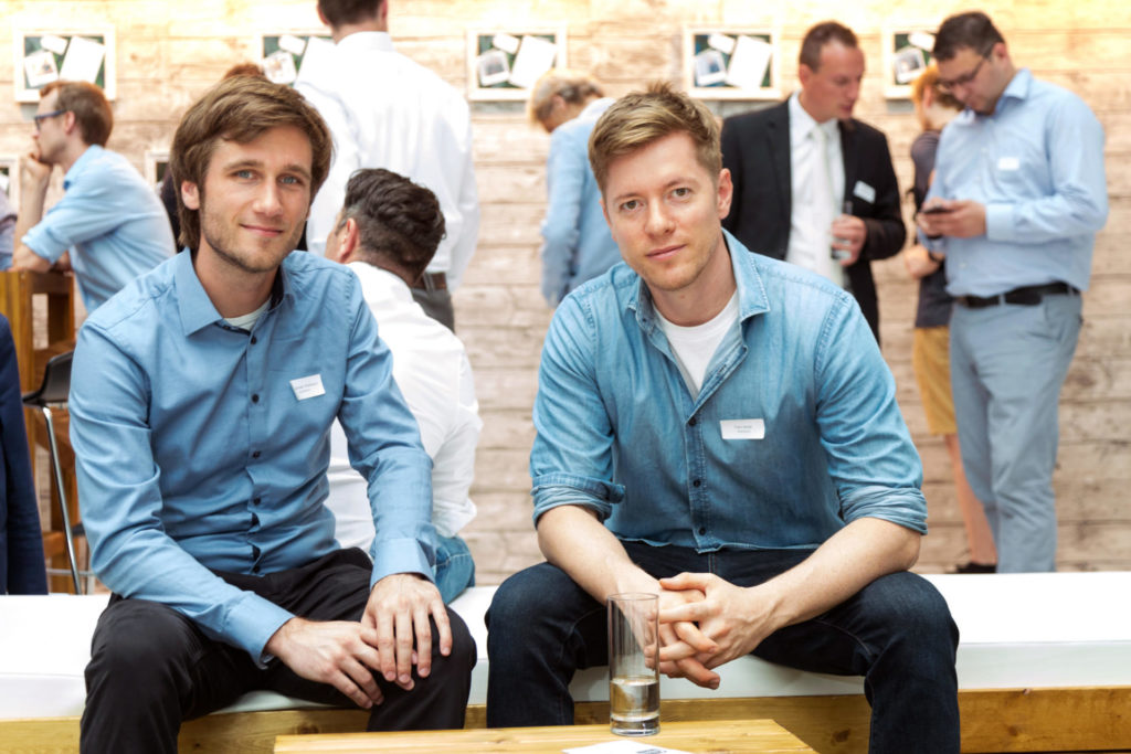 Founder of SolarworX Felix Boldt and Alexander Hoffmann