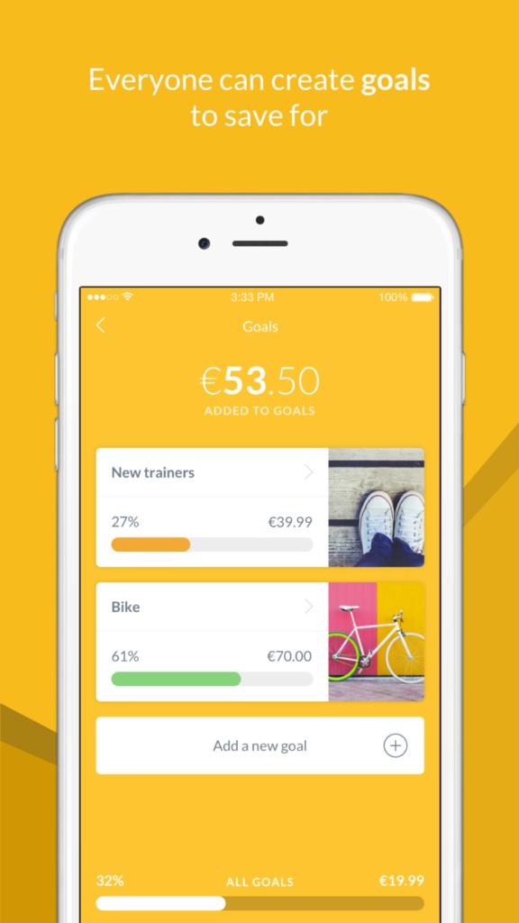 Rooster Money pocket money app.