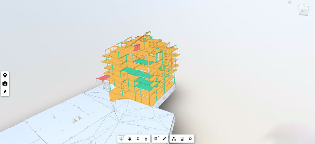 Scan of a construction site produced by Scaled Robotics