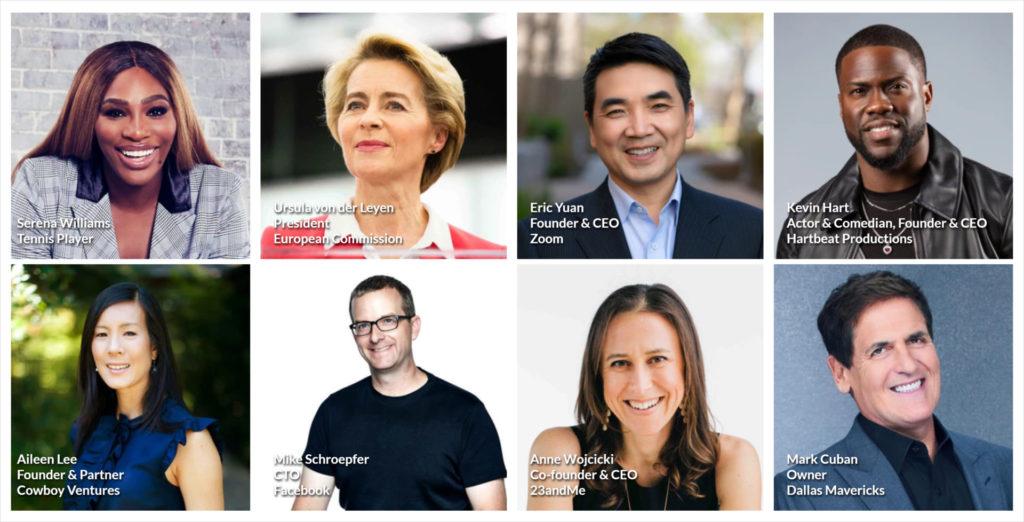 2020 speakers (Photo credit: Web Summit)
