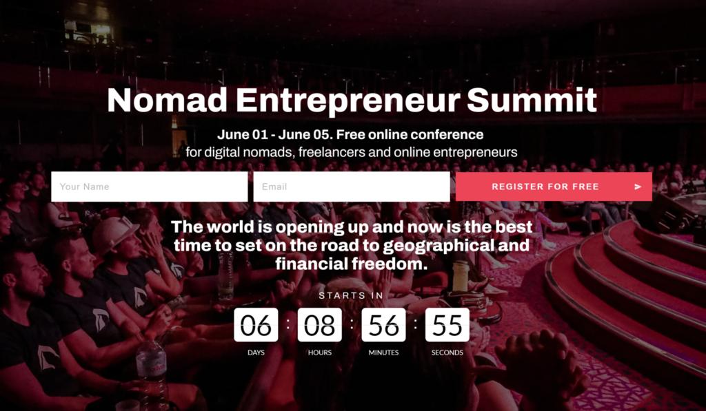Image credit: Nomad Entrepreneur Summit